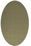 rug #312301 | oval light-green rug