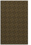 rug #312349 |  brown circles rug