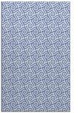 rug #312369 |  blue circles rug