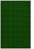 rug #312397 |  green circles rug