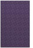 rug #312425 |  blue-violet circles rug