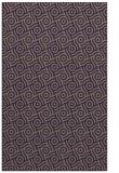 rug #312437    blue-violet circles rug