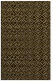 rug #312445 |  mid-brown circles rug