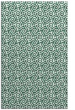rug #312461 |  blue-green circles rug