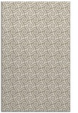 rug #312469 |  mid-brown circles rug