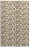 rug #312481    mid-brown geometry rug
