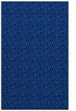 rug #312497 |  blue circles rug