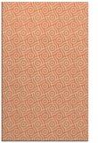 rug #312525 |  orange circles rug