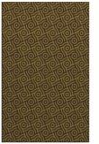 rug #312557 |  green circles rug