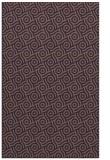 rug #312561 |  mid-brown circles rug