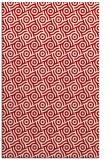rug #312569 |  red circles rug