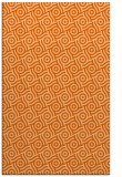 rug #312589 |  red-orange circles rug