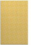 rug #312617 |  yellow geometry rug