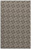 rug #312625 |  brown circles rug