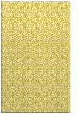 rug #312629 |  yellow circles rug