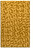 rug #312633 |  yellow circles rug