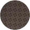 rug #312693   round black circles rug