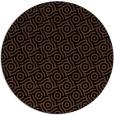 rug #312697   round black circles rug