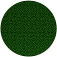 rug #312749 | round green circles rug