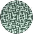 rug #312813 | round green circles rug