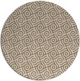 rug #312833 | round beige circles rug