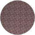 rug #312837 | round pink circles rug