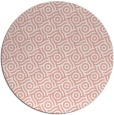 rug #312901 | round white circles rug