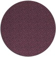 rug #312905 | round purple circles rug