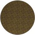 rug #312909 | round green geometry rug