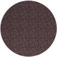 rug #312913 | round mid-brown circles rug