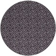 rug #312917   round purple circles rug