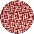 rug #312921   round red circles rug