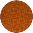rug #312945   round red-orange circles rug
