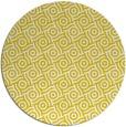 rug #312981 | round yellow circles rug