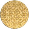 rug #313017 | round light-orange circles rug