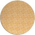rug #313029 | round light-orange popular rug