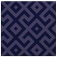 rug #313469 | square blue-violet rug