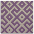 rug #313565 | square purple geometry rug