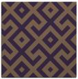 rug #313617 | square mid-brown popular rug