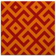 rug #313629 | square red rug