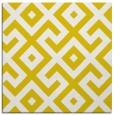 rug #313685   square yellow geometry rug