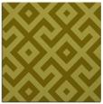 rug #313705 | square light-green rug