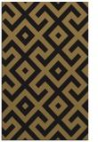rug #314109 |  black geometry rug
