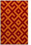 rug #314277    orange popular rug