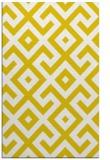 rug #314389 |  yellow rug