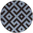 rug #314555 | round geometry rug