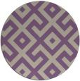 rug #314621 | round beige rug