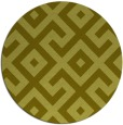 rug #314761 | round light-green rug