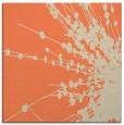rug #315341 | square orange natural rug