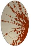 rug #315696 | oval natural rug
